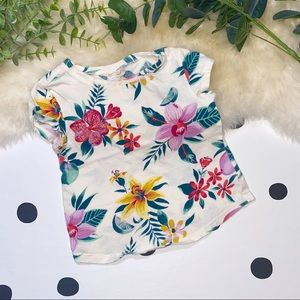 🧸5 FOR $30🧸OLD NAVY Floral Print Tee - 2T